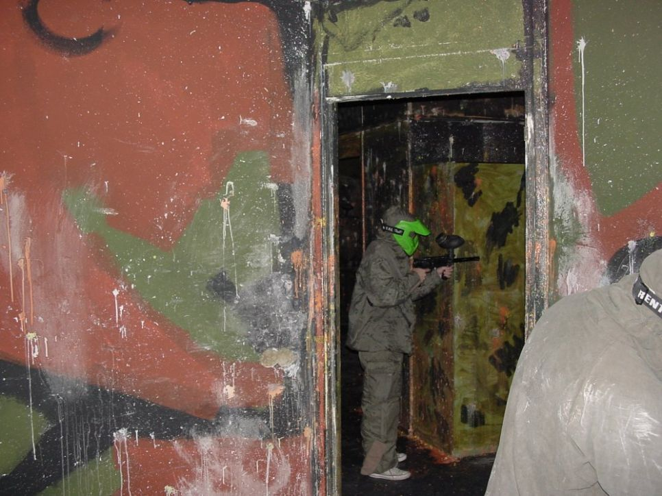 Paintball-indoor